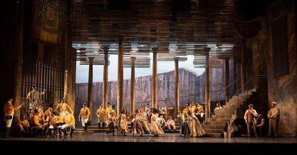 Carmen. Opera Omaha. - Carmen. Opera Omaha. Scenic design by Paul Shortt. 1992 --- #Theaterkompass #Theater #Theatre #Schauspiel #Tanztheater #Ballett #Oper #Musiktheater #Bühnenbau #Bühnenbild #Scénographie #Bühne #Stage #Set