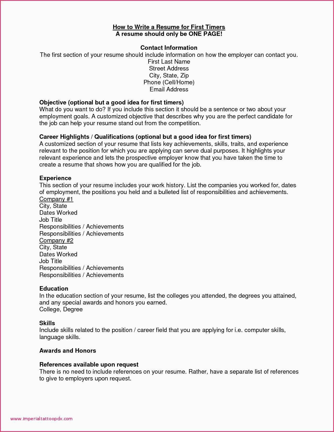 Should You Put Scholarships On Resume Best Of List Skills to Put A Resume  Examples Awesome Image in 2020 | Resume examples, Resume tips, Resume