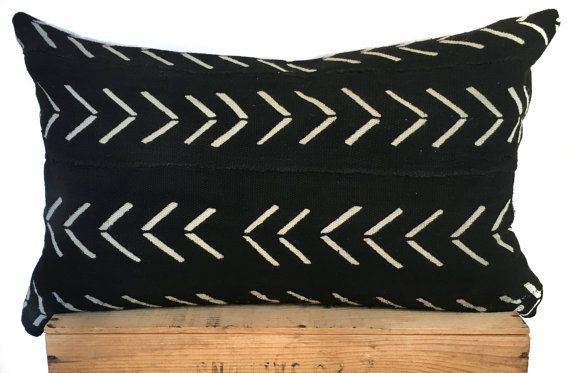 16X26 Pillow Insert Classy 16X26 Black And White African Mud Cloth Pillow Cover This Pillow Is Decorating Inspiration
