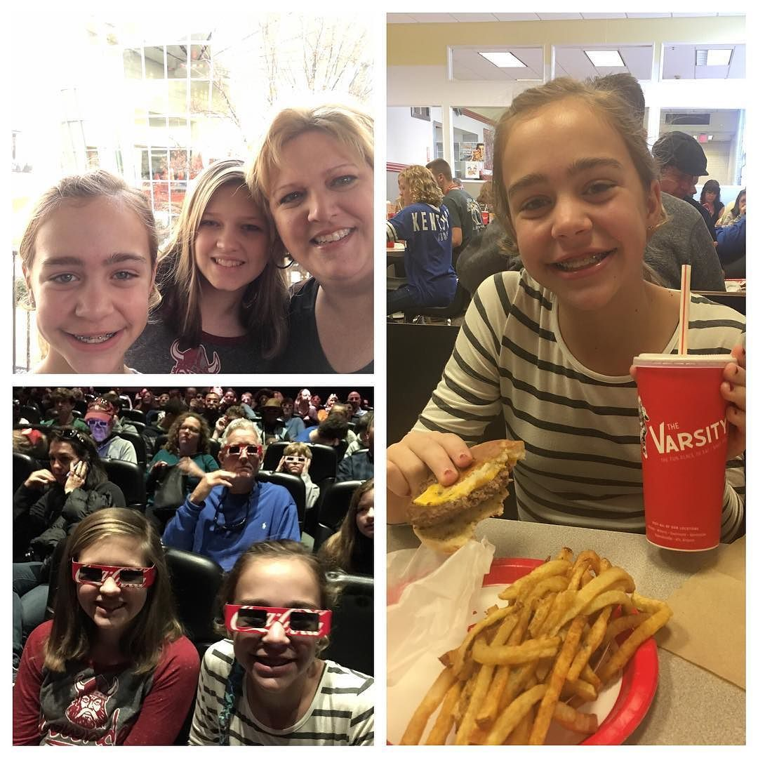 Treating my girls to a trip to ATL. They loved World of Coke and of course some burgers from The Varsity! #familyfun #christmas2016