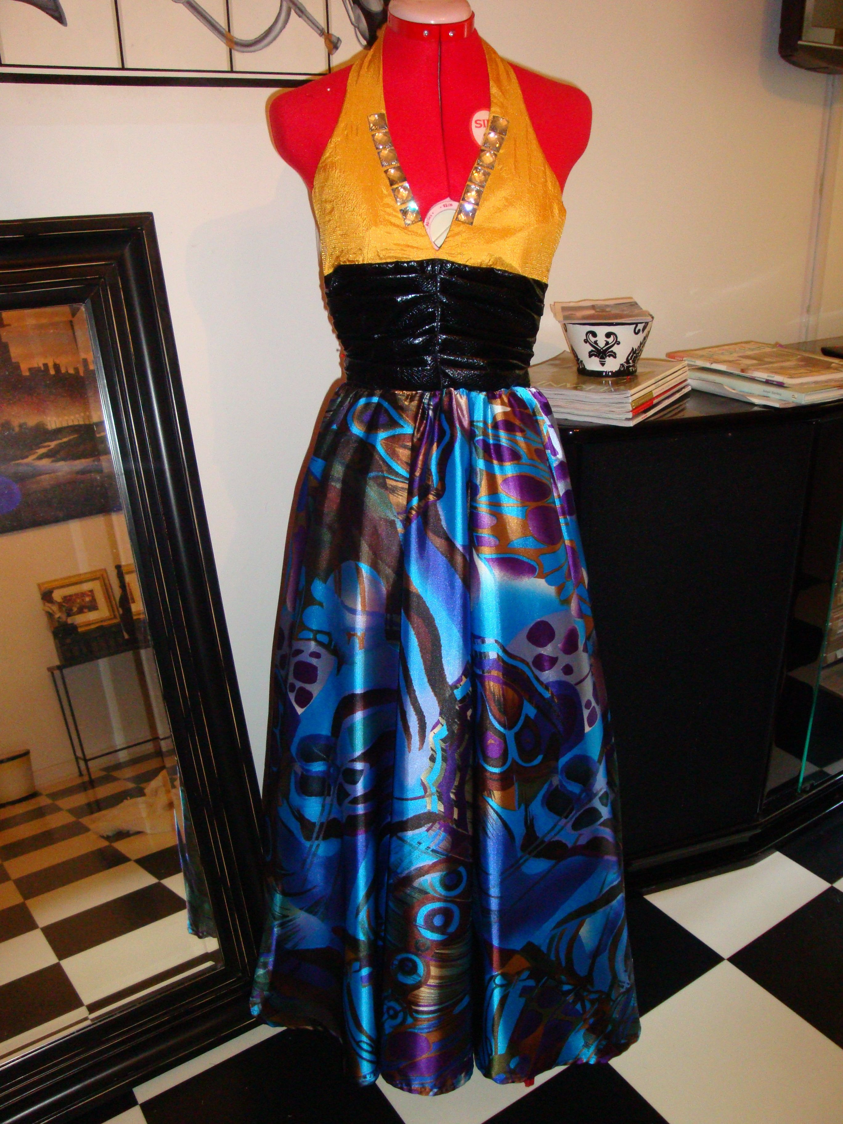 Prom dress made by thea jefferscustom fit for petite size