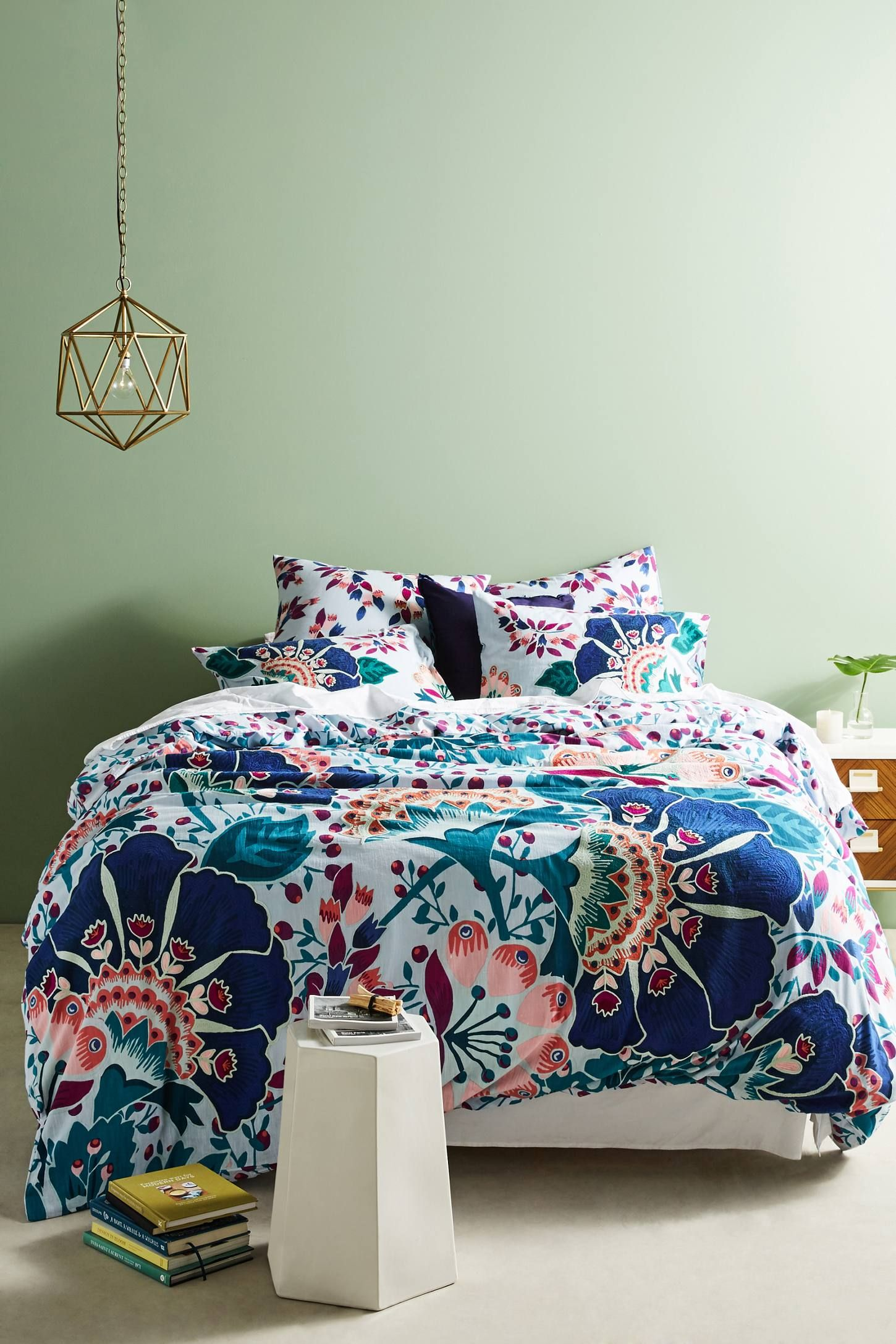 Geneva Down Alternative Duvet Insert Anthropologie Bedding