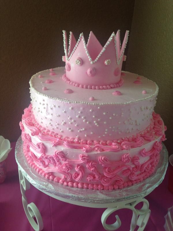 Princess 1st birthday cake disney party Pinterest Birthday