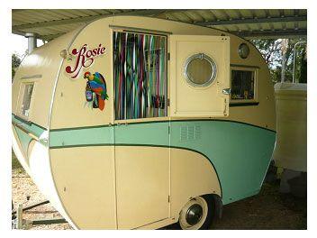 1954 Walsh 9 6 Bondwood This Is Awesome Vintage Caravans