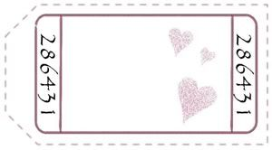 These free printable love coupons have a funky vintage feel. Choose either the pre-filled or blank design to download, and bind them into a match-book cover for your hunny. Perfect for Valentines day!