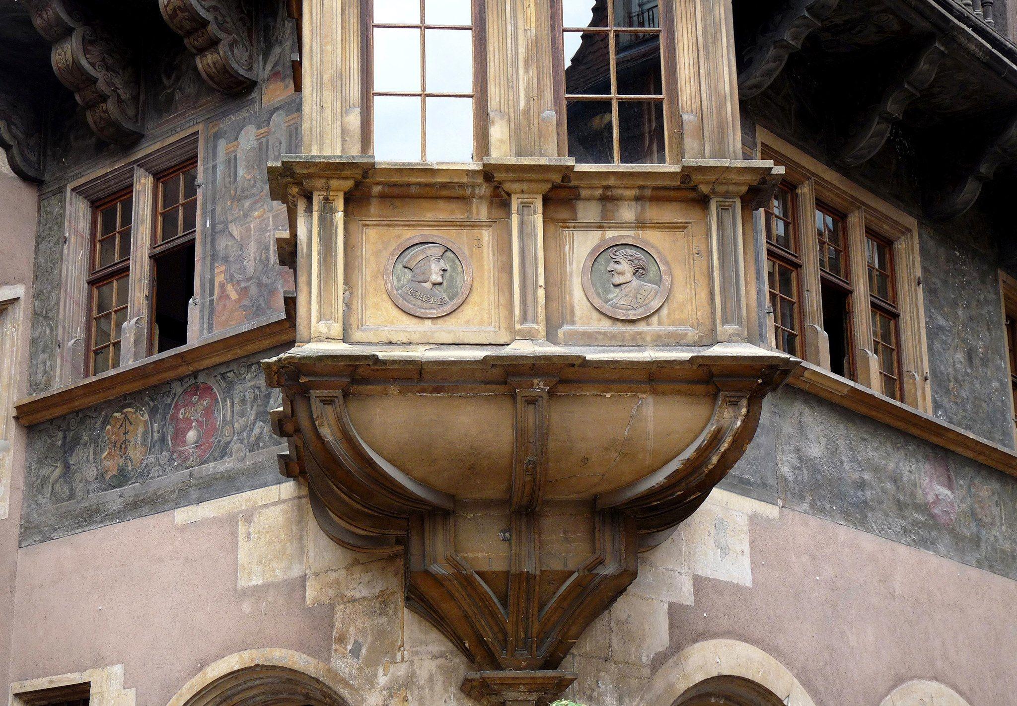 Maison Pfister, Colmar, Alsace, France.