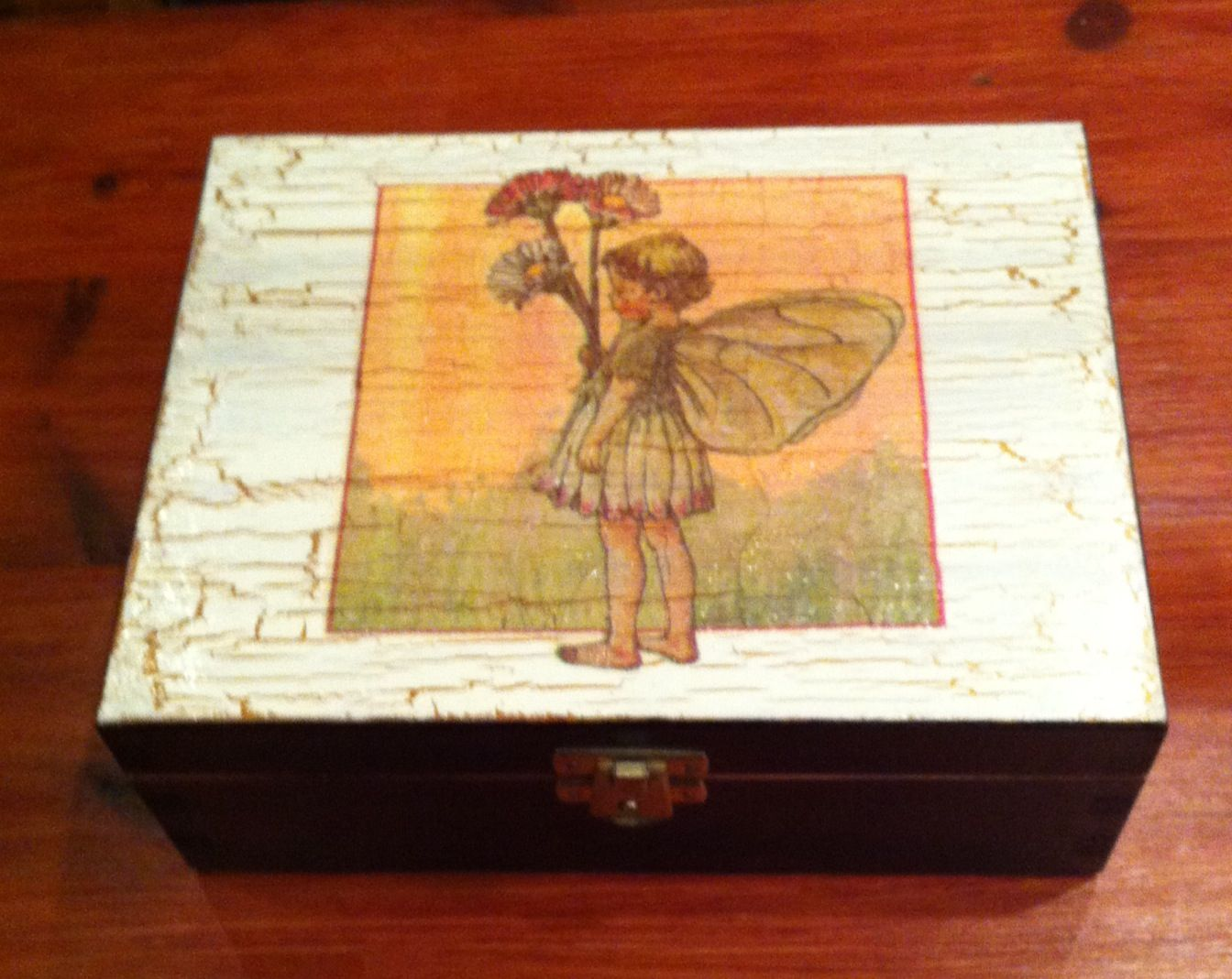 Decorated Wooden Box Decorative Boxes Wooden Boxes Picture Frames