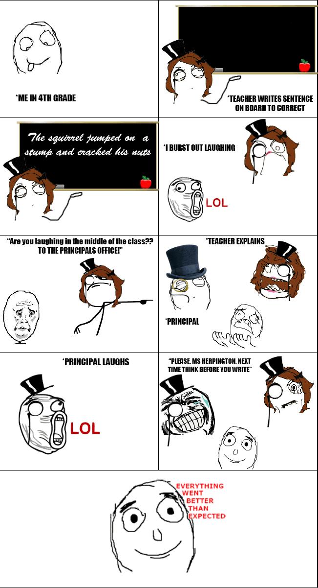 Funny Meme Comics About School : Bahahhhaahhahahahahahha i really want this to happen me