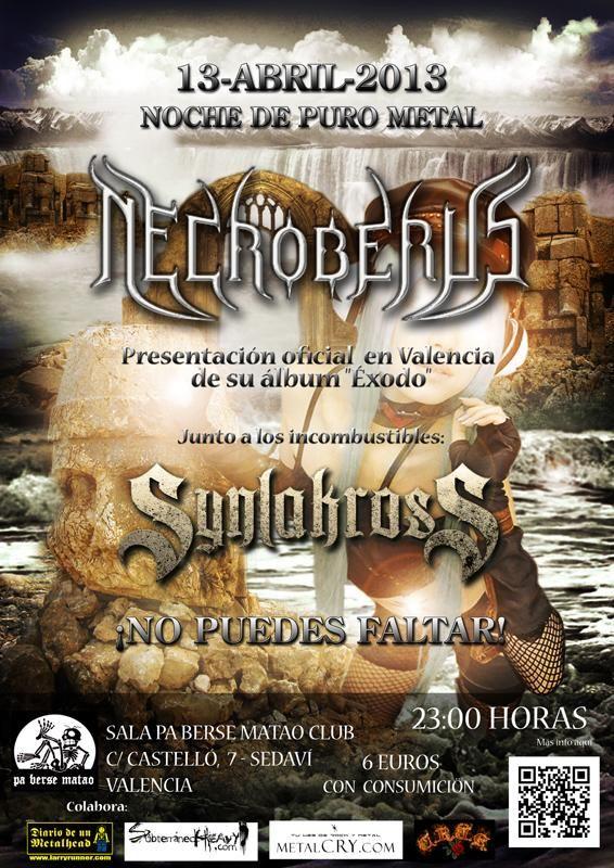 CONCIERTO DE NECROBERUS Y SYNLAKROSS