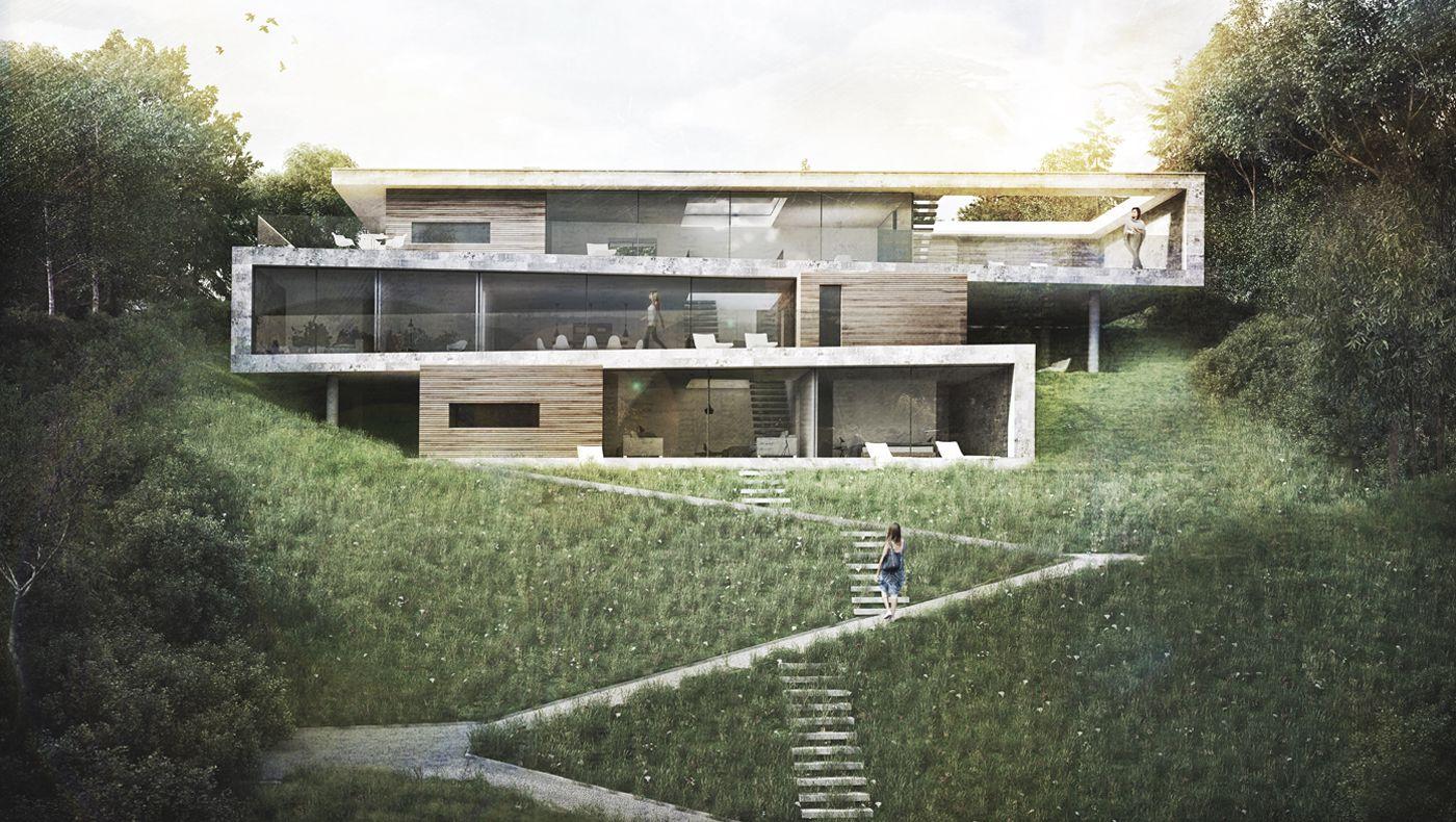 Folding House - | Architecture | Folding house, House design