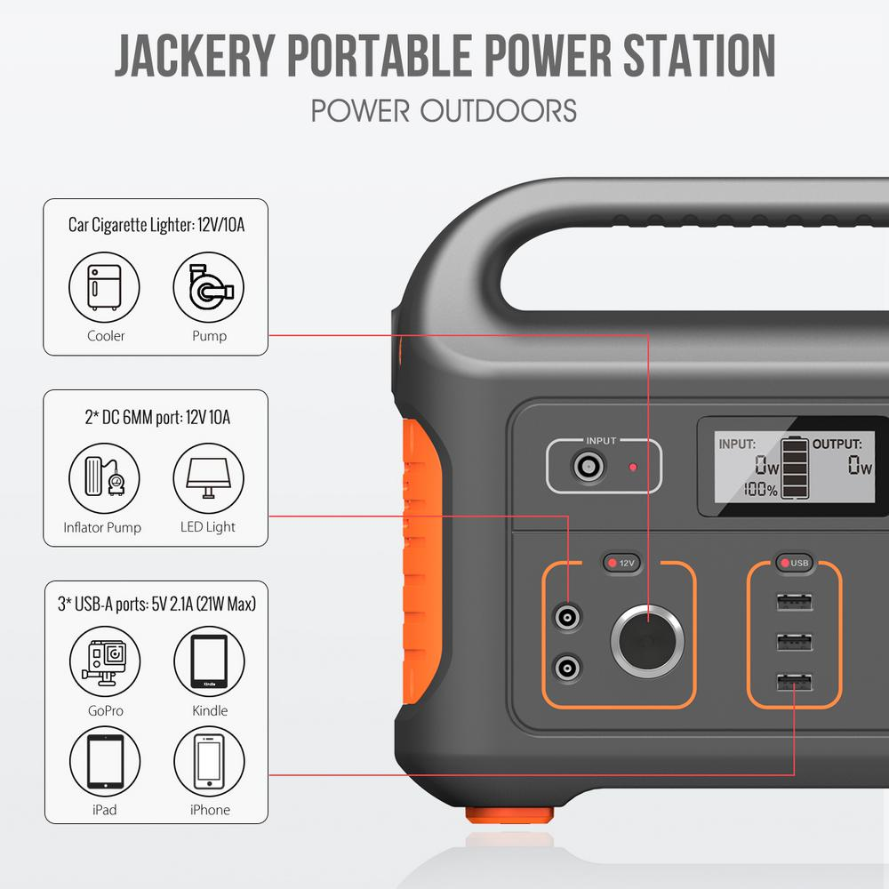 Jackery by Honda 440Wh Portable Lithium Power Station