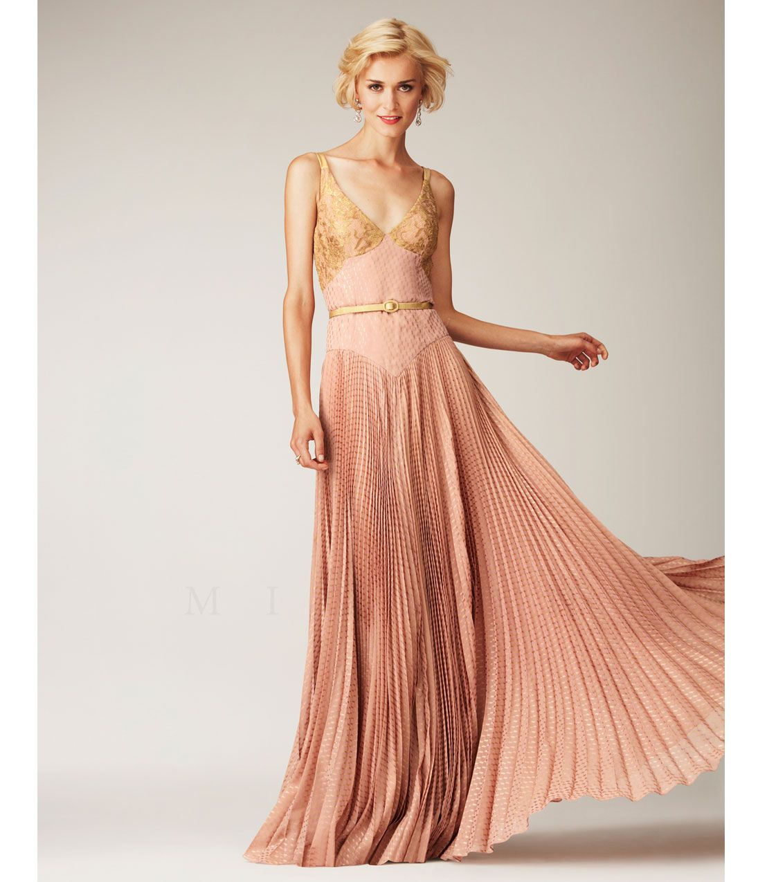 Wedding Rose Gold Dresses 168 stop staring 1930s style navy ivory railene dress rose gold