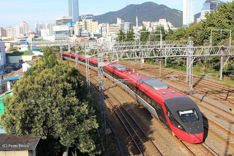 Korail ITX in Busan (South-Korea), 09-10-2014   Flickr - Photo Sharing!