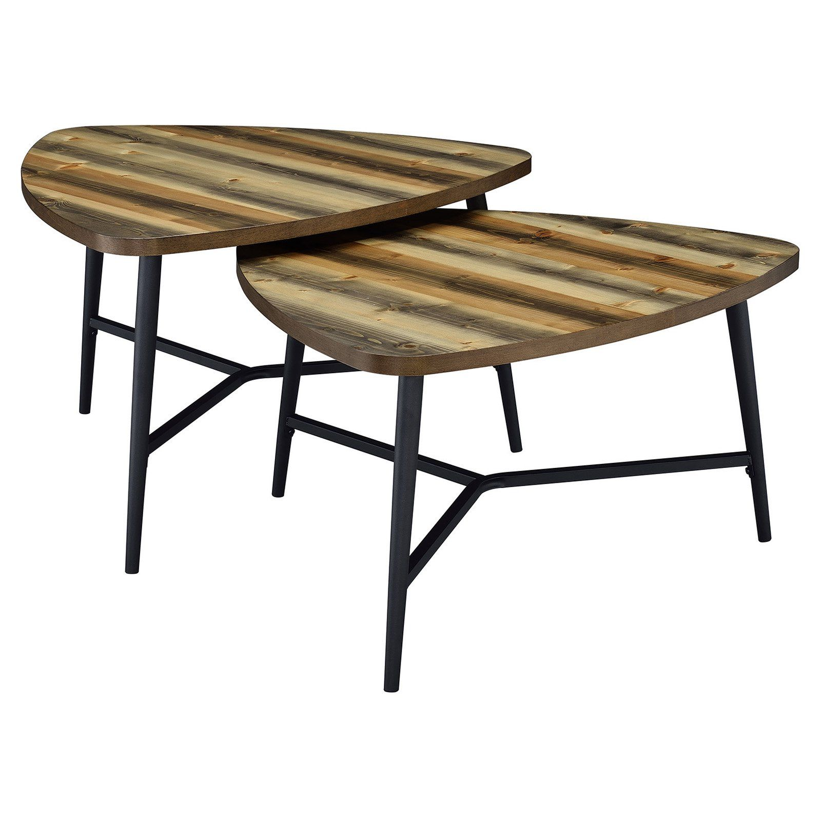 Best Picket House Furnishings Gibson Coffee Table Set Of 2 400 x 300