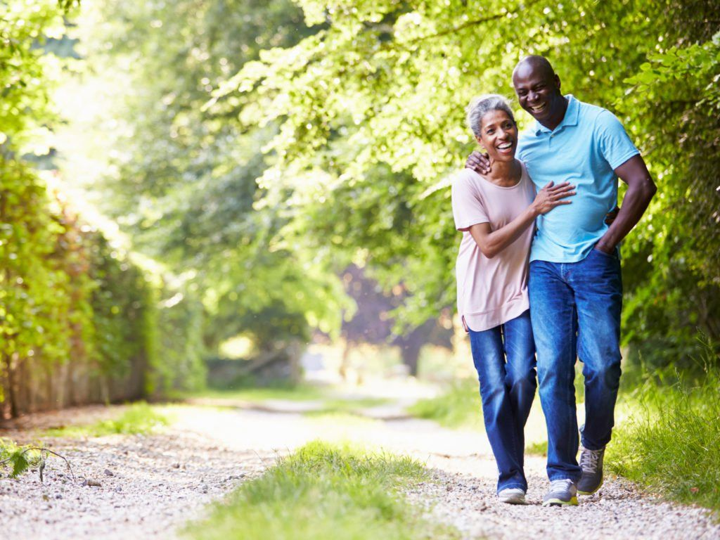 Middleaged couple smiling How to stay healthy, Health