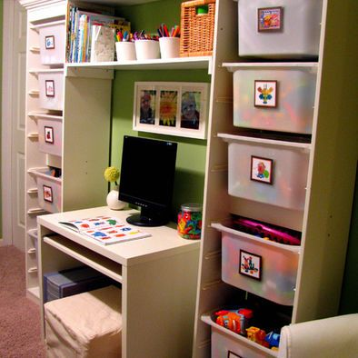 Storage Room Organization Toy Rooms Kid Spaces