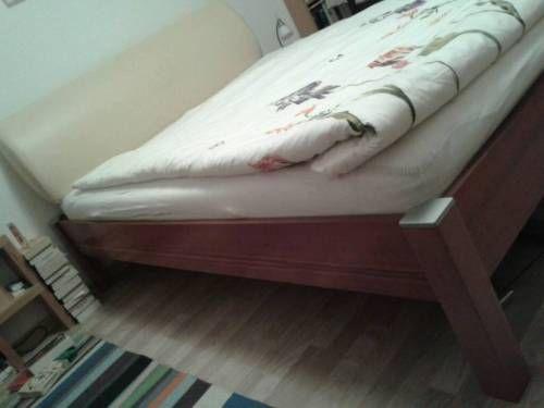 bett nussbaum ohne lattenrost ohne matratze in berlin. Black Bedroom Furniture Sets. Home Design Ideas