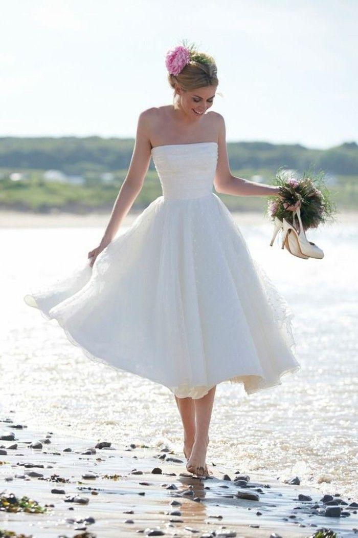 Vestidos para boda civil en la playa
