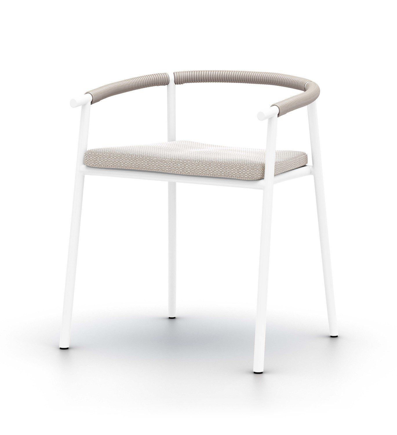 Chord Dining Chair In White In 2021 Outdoor Dining Chairs Dining Chairs Chair