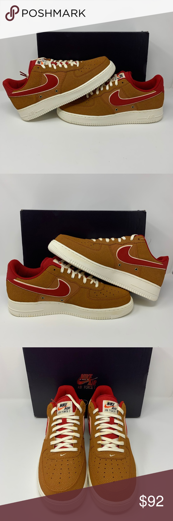 quality design 65f78 a7853 NIKE AIR FORCE 1 07 LV8 TAWNY BROWN NIKE AIR FORCE 1 07 LV8 TAWNY BROWN