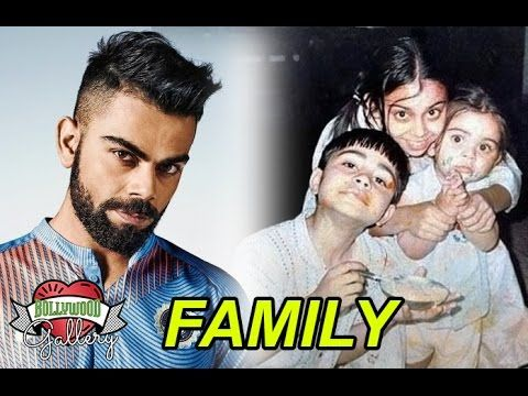 Virat Kohli Family With Father Mother Brother And Sister