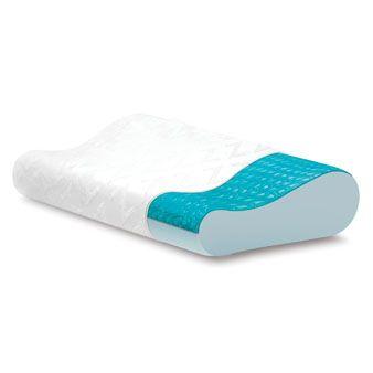 Malouf Z Gel Infused Dough Memory Foam Contour Pillow With Liquid Z Gel Packet Memory Foam Body Pillow Gel Pillow Contour Pillow