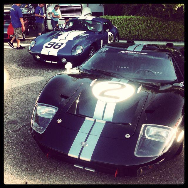 Shelby Cobra Daytona & Ford GT40