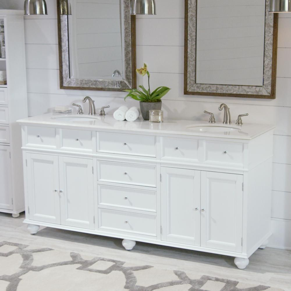 finest selection 4e079 bccc3 Home Decorators Collection Hampton Harbor 72 in. W x 22 in ...
