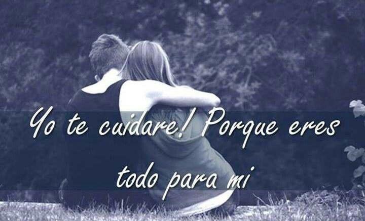 Eres todo para mi.