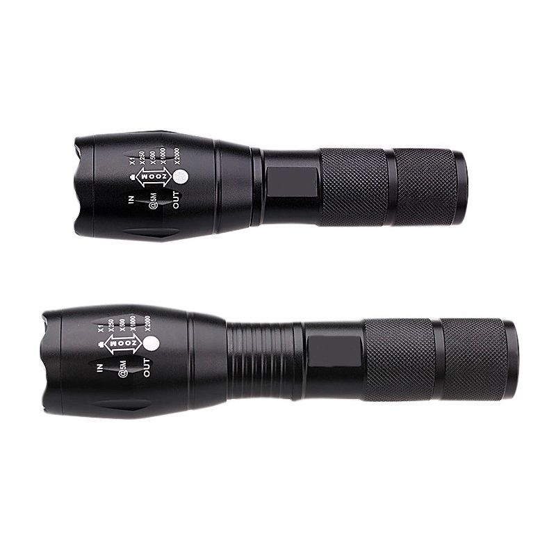 2017 5 Mode Zoomable Xml L2 5000lm T6 3800lumens Led Flashlight Torch Tactical Light For Aaa Or 18650 Rechargeable Bat Tactical Light Flashlight Led Flashlight