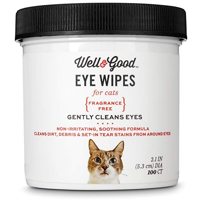 Well & Good Cat Eye Wipes, Pack of 100 wipes Review Cat