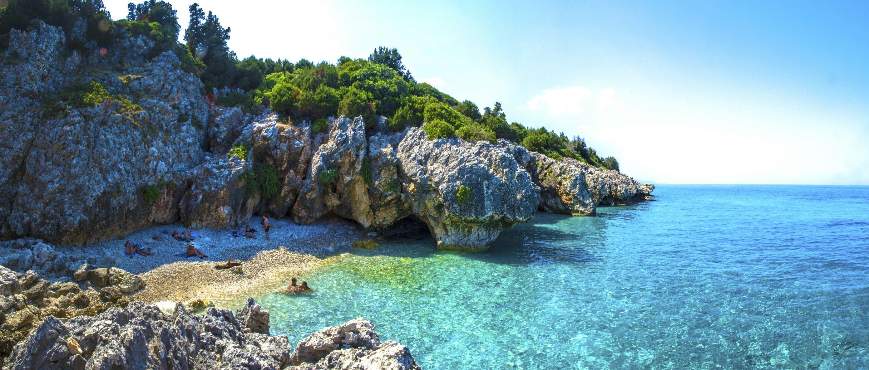 Kato lagadi Beach, Kefalonia, Greece