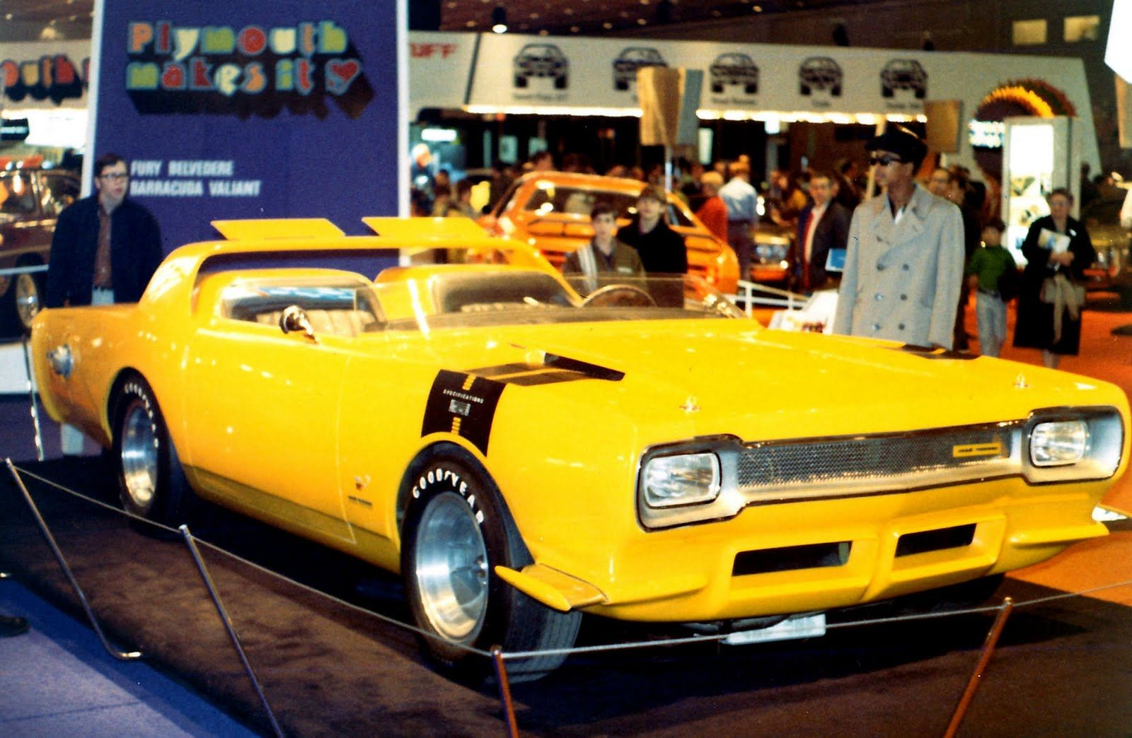 Plymouth Road Runner Concept Car 1964  Vintage Concept Cars