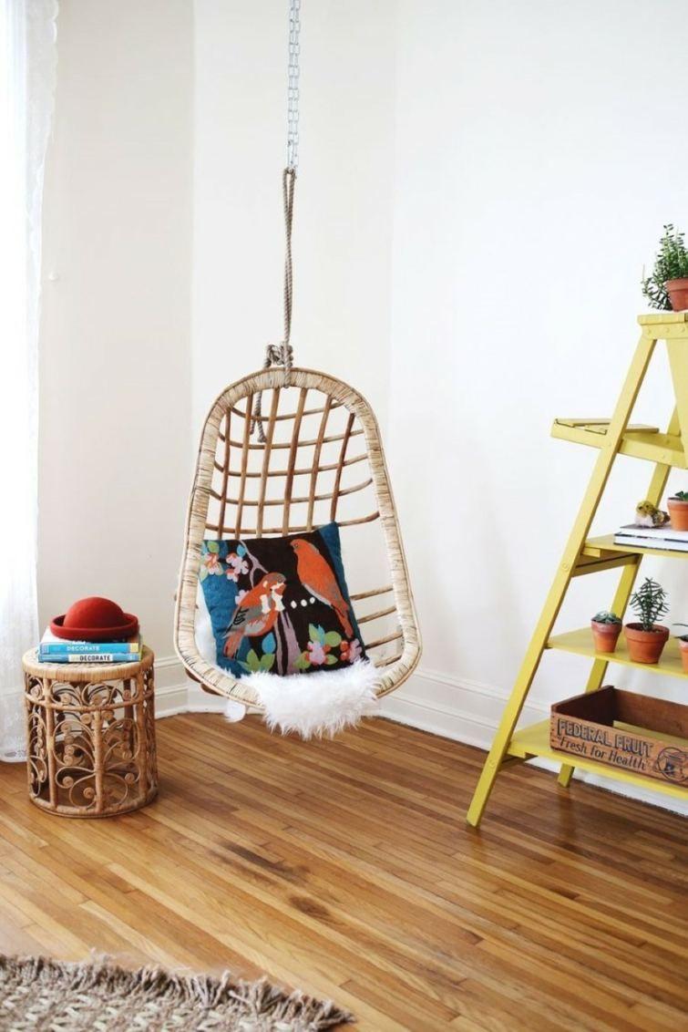 Échelle bois déco idées créatives pour votre intérieur living