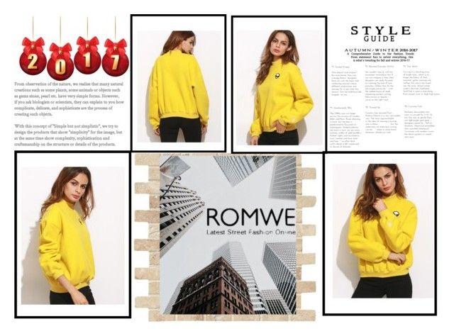 """""""romwe"""" by mindak ❤ liked on Polyvore"""