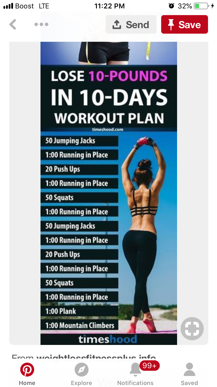 Pin by Brianna Barnes on Workout | Weight loss workout plan