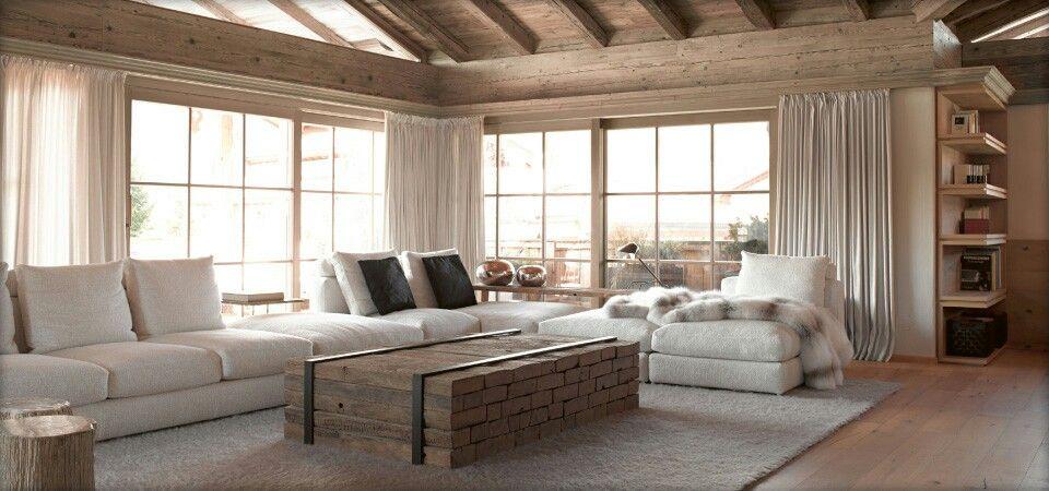 wohnzimmer mökki Pinterest Mountain modern, Mountain living - wohnzimmer bilder modern