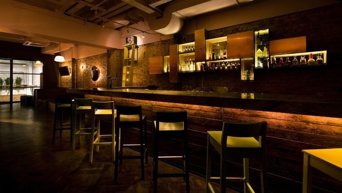 restaurant decor | Rewind bar Interior Design & Decor by TAKENOUCHI ...
