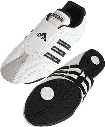 110390d9c47b53 Adidas Martial Arts Shoes - LUXE - White Black Stripes adidas.  85.45