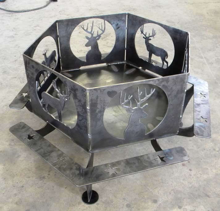 Plasma table piece was plasma cut i use a dynatorch for Free metal project plans