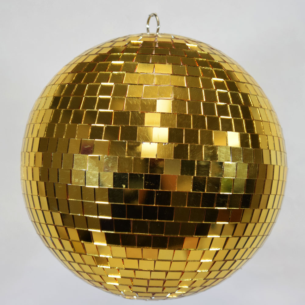 Blowout 12 Gold Disco Mirror Ball For Dance Party Mirror Ball Disco Lights Disco Ball