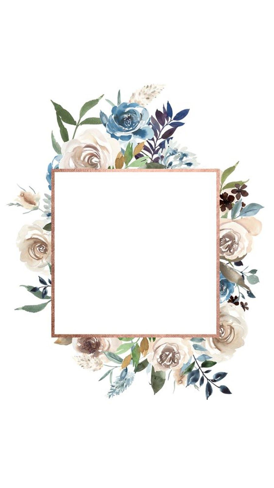 instagram stories also floral frame  wallpapers rh br pinterest