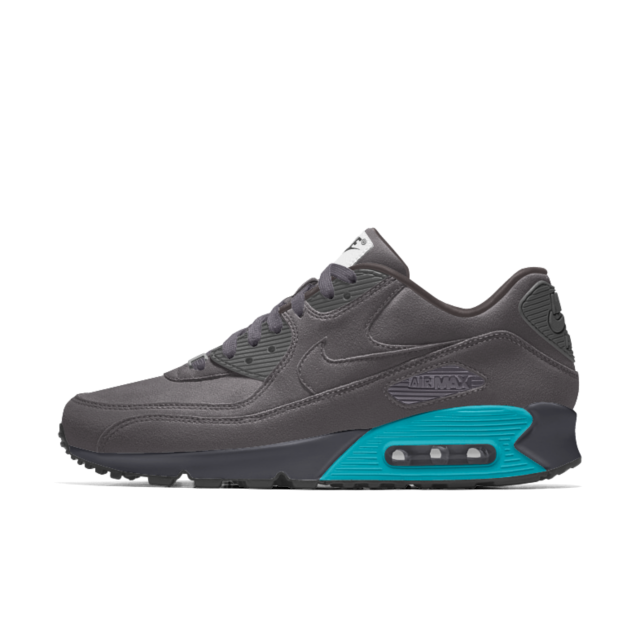 Calzado Nike Air Max 90 Premium iD para mujer SMOKE | Nike