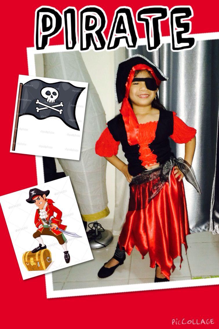 DIY Lady Pirate costume