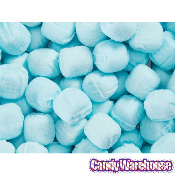 Blue Buttermint Creams: 3LB Bag