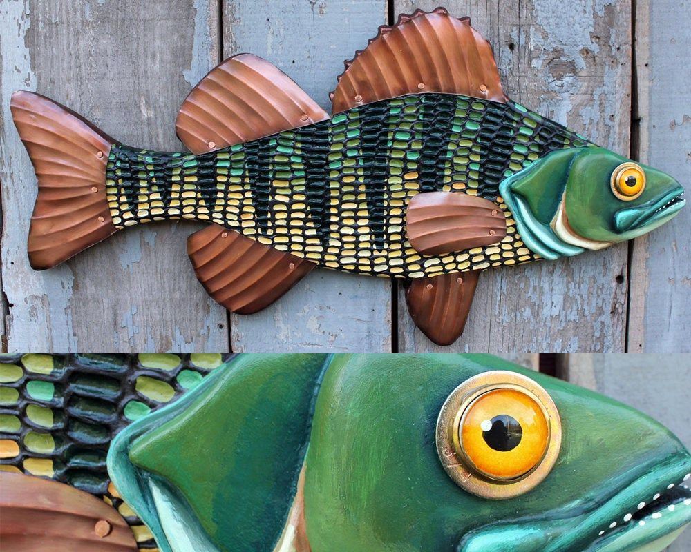 Red Fish ocean perch on reclaimed wood