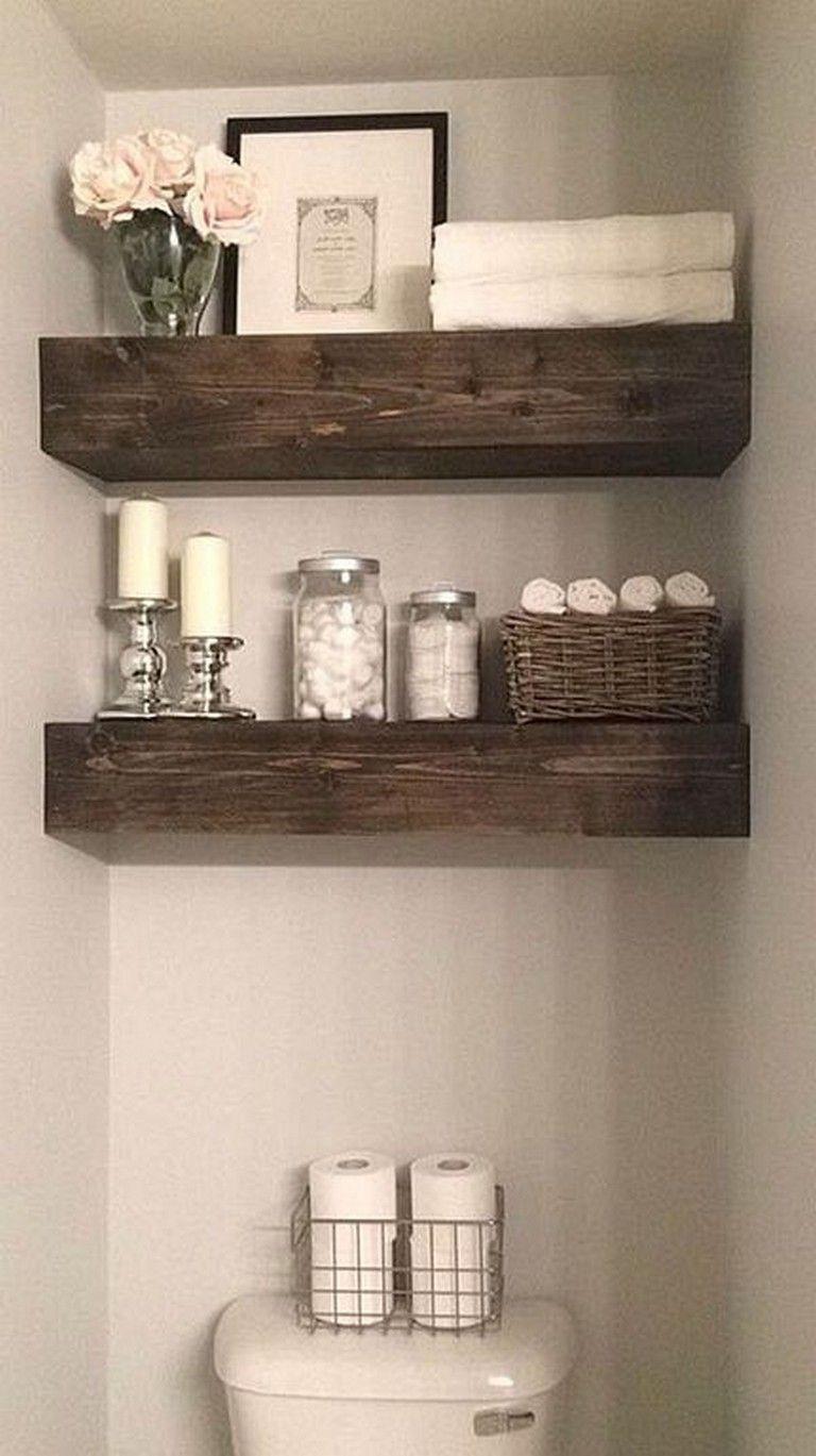 Choosing Bathroom Shelves Get The Best Rustic Bathrooms Rustic Bathroom Designs Farmhouse Bathroom Decor
