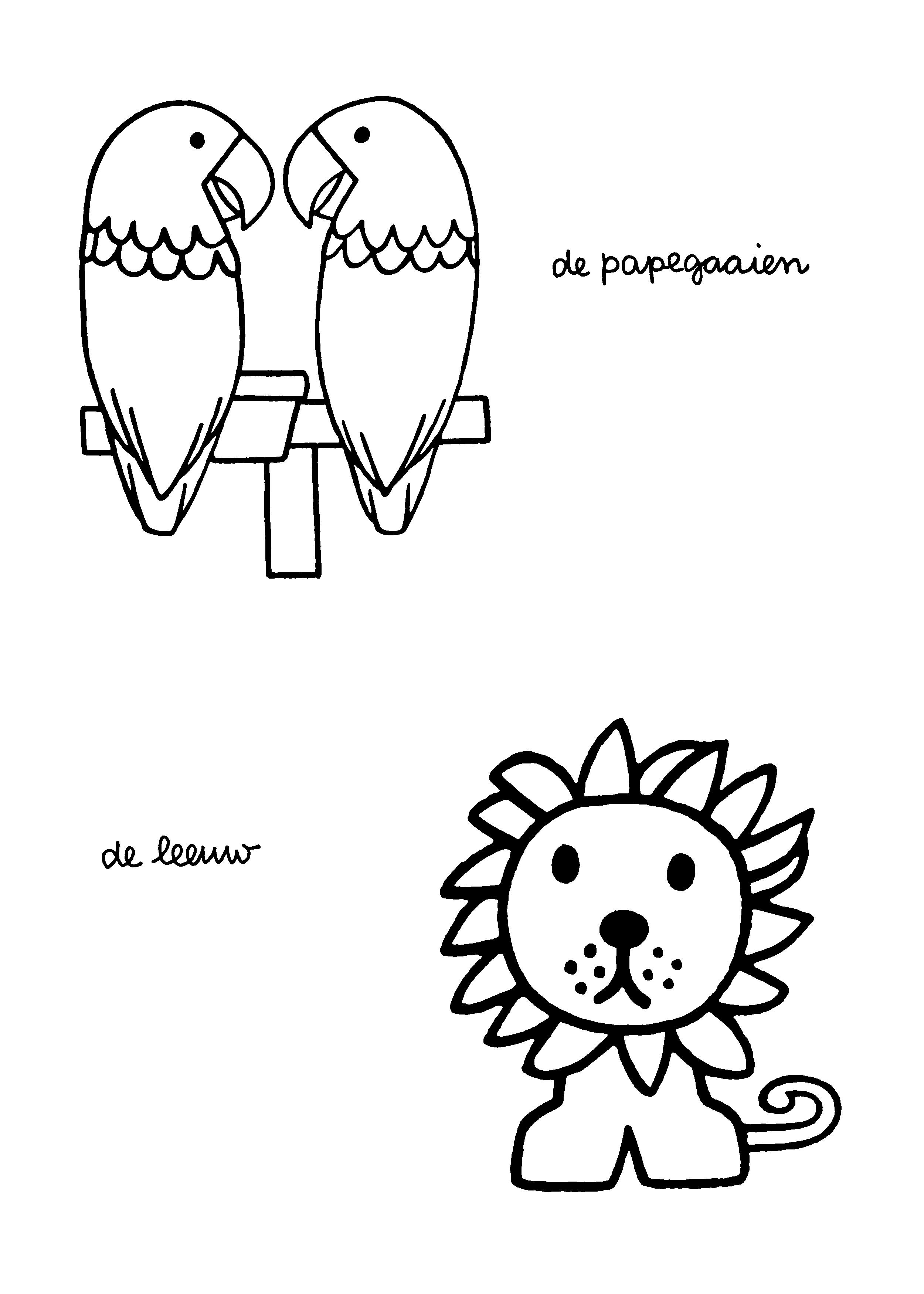 Lion Dick Bruna Miffy Miffy We Love You Lion Illustration