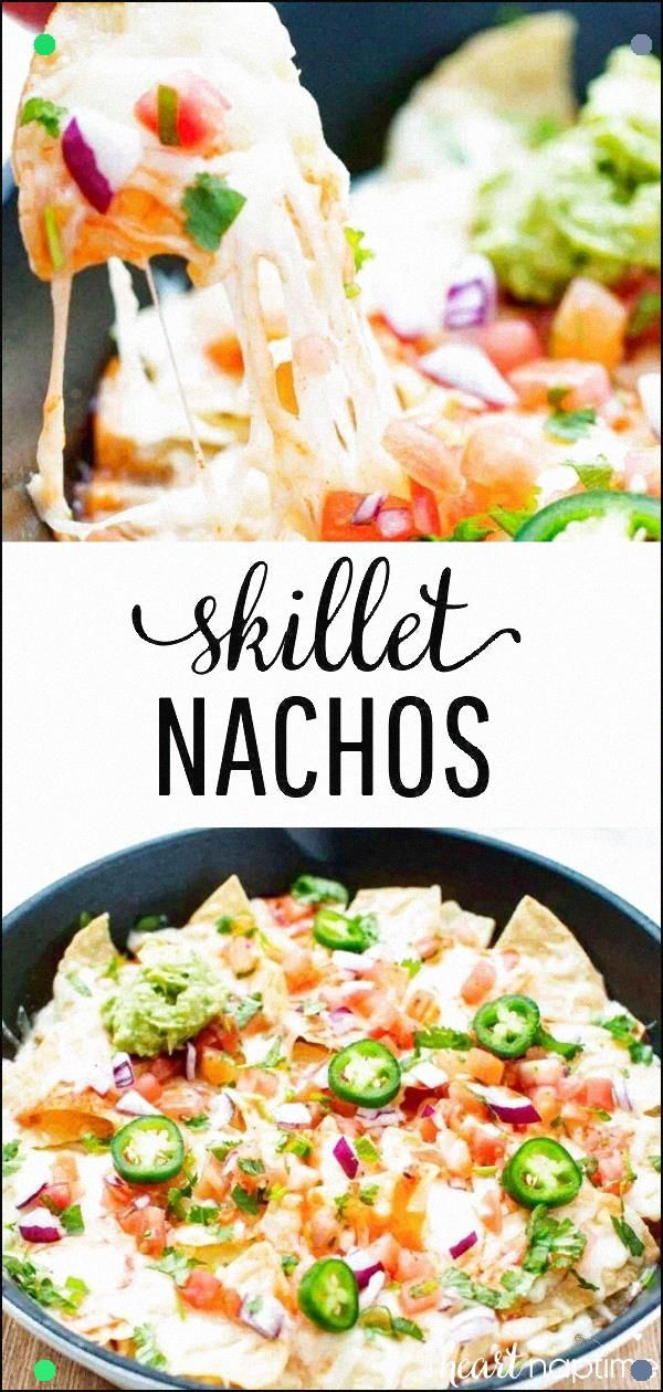The Ultimate Nachos Recipe - Delicious Layers Of Chips, Gooey Cheese And Toppings That Are Baked To