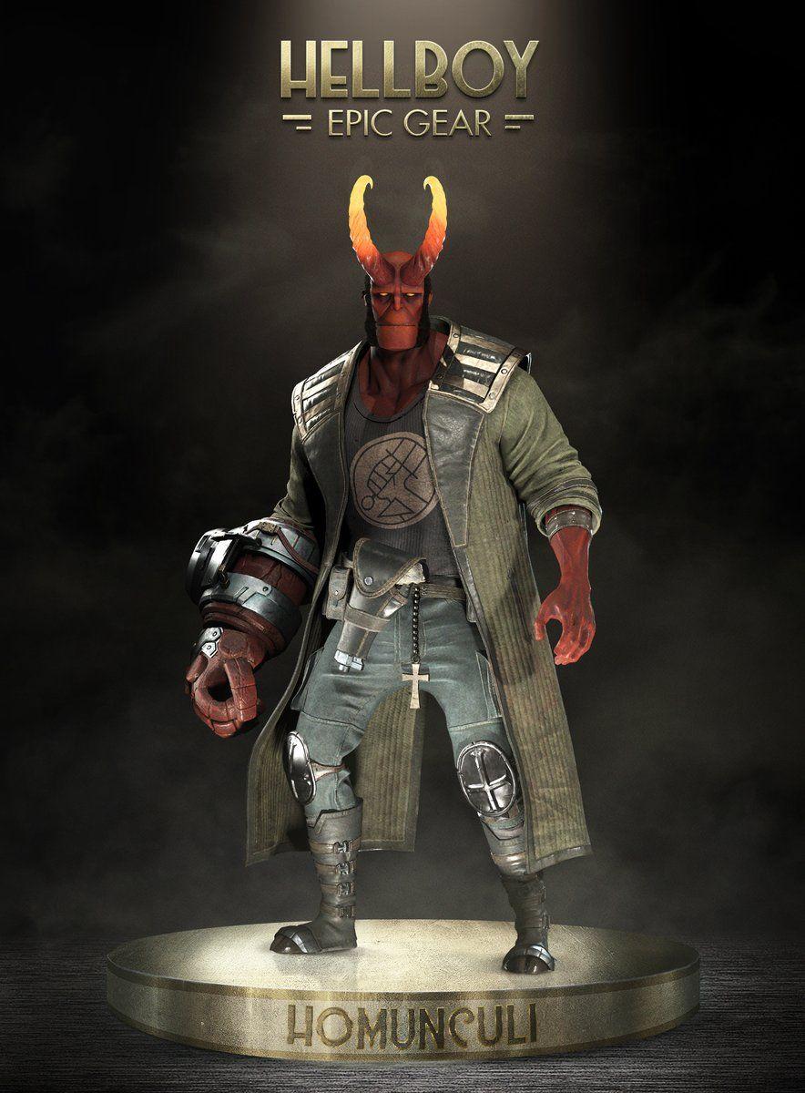 New Hellboy Epic Gear Hellboy Characters Marvel Tribute Hellboy Art